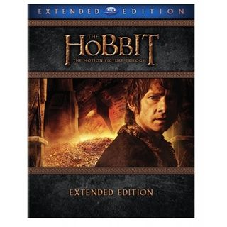 Hobbitten - Trilogy Extended Edition Blu-Ray