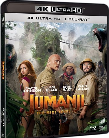Jumanji 2 - The Next Level - 4K Ultra HD Blu-Ray