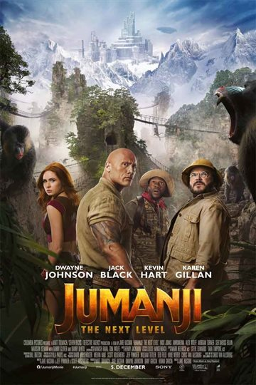 Jumanji 2 - The Next Level - Blu-Ray
