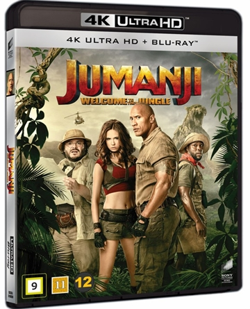 Jumanji - Welcome To The Jungle - 4K Ultra HD Blu-Ray