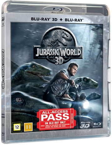 Jurassic World - 3D Blu-Ray