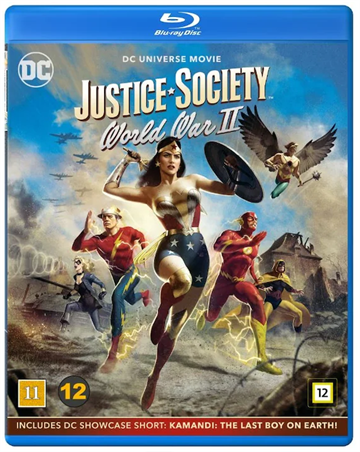 Justice Society: World War 2 - Blu-Ray