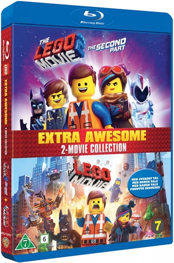 The Lego Movie 1-2  Blu-Ray