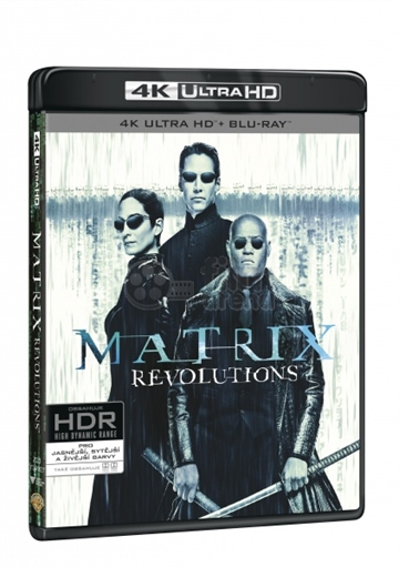 Matrix 3 Revolutions - 4K Ultra HD