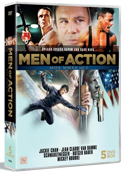 Men Of Action Box - Vol. 2