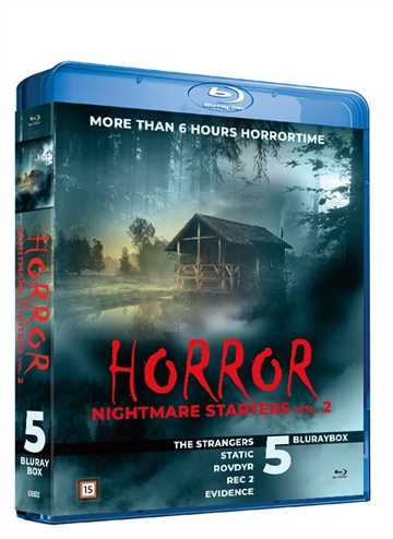 Horror Nightmare Starters Vol. 2 Blu-Ray Box