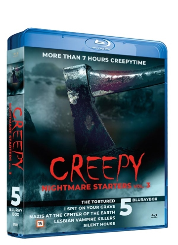 Creepy Nightmare Starters Vol. 3 Blu-Ray Box