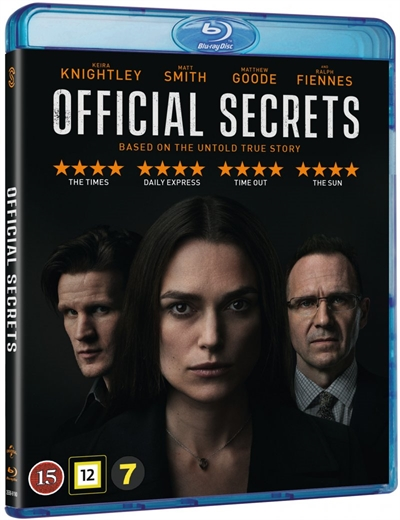 Official Secrets - Blu-Ray