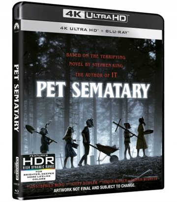 Pet Sematary 2019 - 4K Ultra HD - Blu-Ray