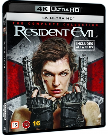 Resident Evil 1-6 Complete - 4K Ultra HD Blu-Ray