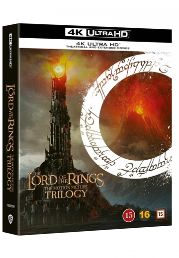 Ringenes Herre Trilogi / Lord Of The Rings Trilogy - 4K Ultra HD Blu-Ray