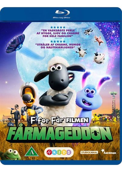 F for får filmen - Fårmageddon - Blu-Ray