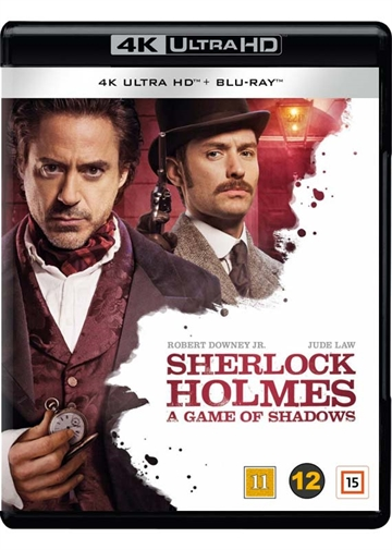 Sherlock Holmes - A Game of Shadows - 4K Ultra HD