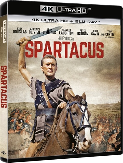 Spartacus - 4K Ultra HD - Blu-Ray