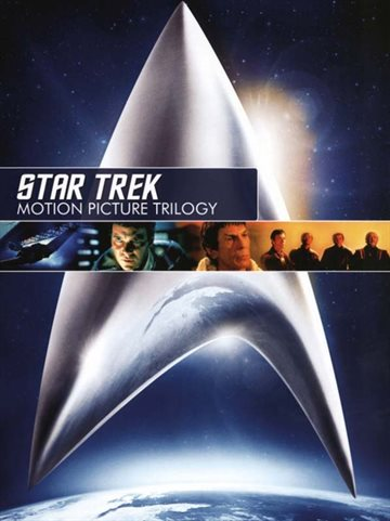 Star Trek Motion Picture Trilogy DVD Boks