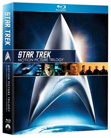 Star Trek Motion Picture Trilogy BD Boks