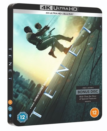 Tenet 4K Ultra HD Blu-Ray - Limited Steelbook
