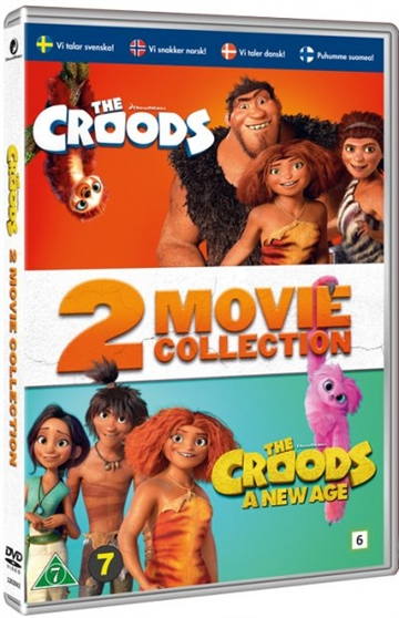 The Croods 1+2 Film (2DVD)