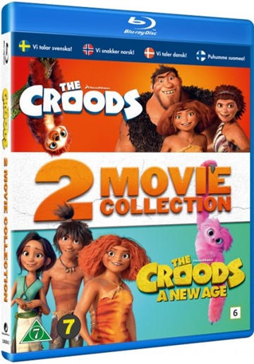 The Croods 1+2 Film (2*BLU-RAY)