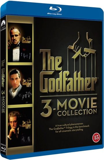 The Godfather (1-3 Movie Collection) Blu-Ray