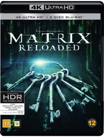 Matrix 2 Reloaded - 4K Ultra HD