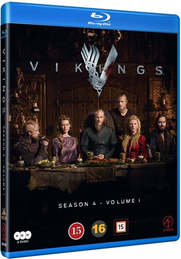 Vikings - Season 4 - Vol 1 Blu-Ray