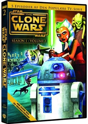 Star Wars Clone Wars - Season 1 Vol. 2