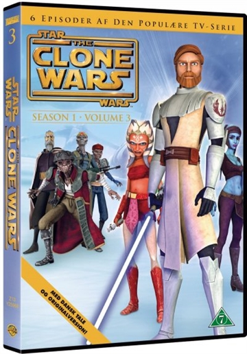 Star Wars Clone Wars - Season 1 Vol. 3