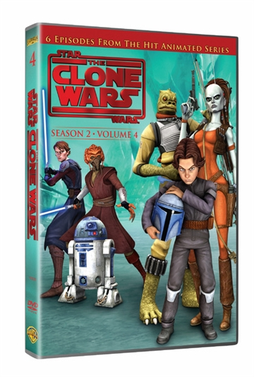 Star Wars Clone Wars - Season 2 Vol. 4