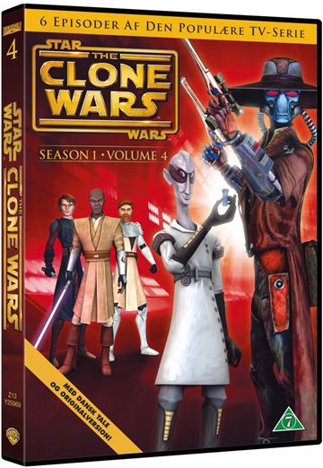 Star Wars Clone Wars - Season 1 Vol. 4