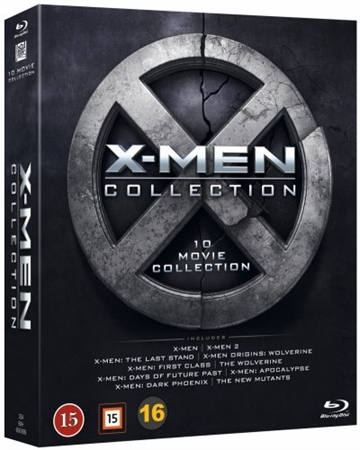 X-Men Collection - 10 x Blu-Ray