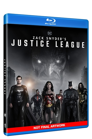 Zack Snyder's Justice League - Blu-Ray