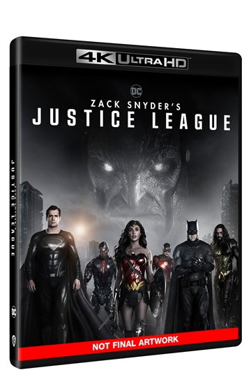 Zack Snyder's Justice League - 4K Ultra HD