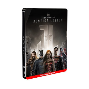 Zack Snyder's Justice League - Blu-Ray Steelbook Limited Edition